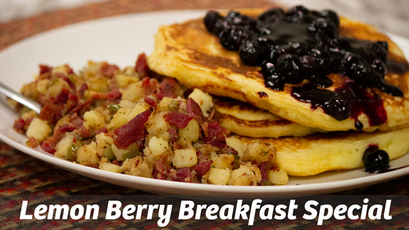 Cooking with Cass: Lemon Berry Breakfast Special