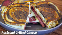Cooking with Cass: Pastrami Grilled Cheese