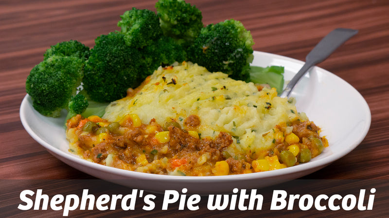 Cooking with Cass: Shepherd's Pie with Broccoli