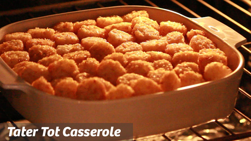 Cooking with Cass: Tater Tot Casserole