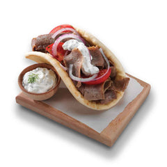 Halal Off The Cone Beef and Lamb Gyro Slices - 10 lb