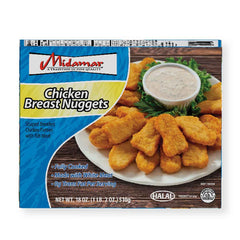 Halal Fully Cooked Chicken Breast Nuggets