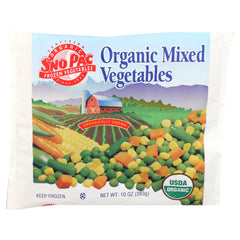 Sno Pac Organic Mixed Vegetables