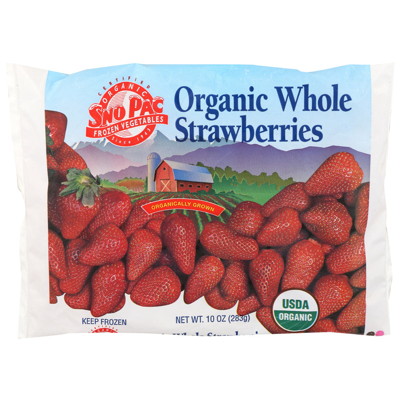 Sno Pac Organic Whole Strawberries