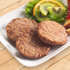 Halal Beef Breakfast Sausage Patties - 8 lb