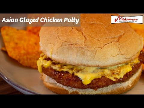Halal Fully Cooked Chicken Breast Patty - 10 lb