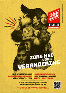 Raamaffiche Changemakers