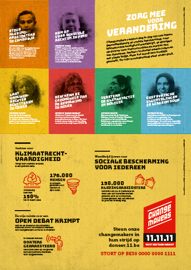 Infoposter campagne