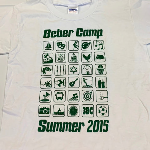 Camp Emojis - Summer 2015 T-Shirt