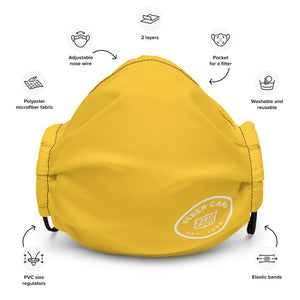 Yellow Team Maccabiah Face Mask