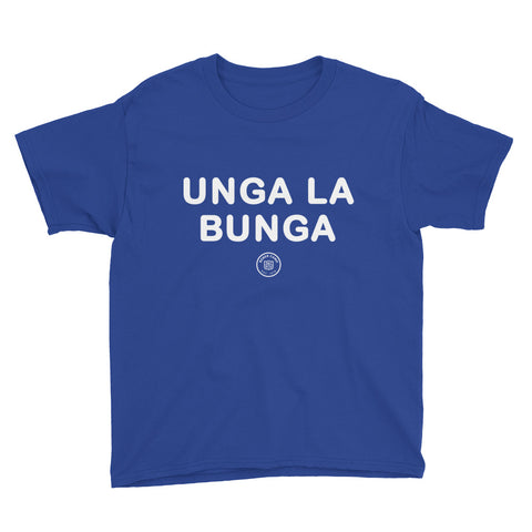 Unga La Bunga Unisex Youth Short Sleeve T-Shirt