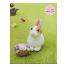 Load image into Gallery viewer, Kit de feutrage Lapin /Bunny Felt Kit