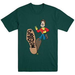 Boot Forest Green T-Shirt