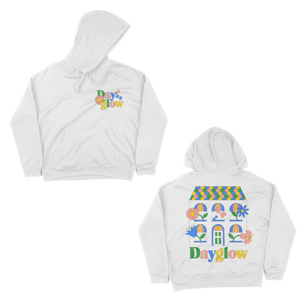 Full House White Pullover Hoodie