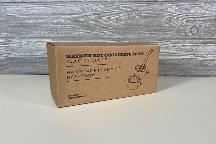 Mexican Hot Chocolate Mug - Set of 2