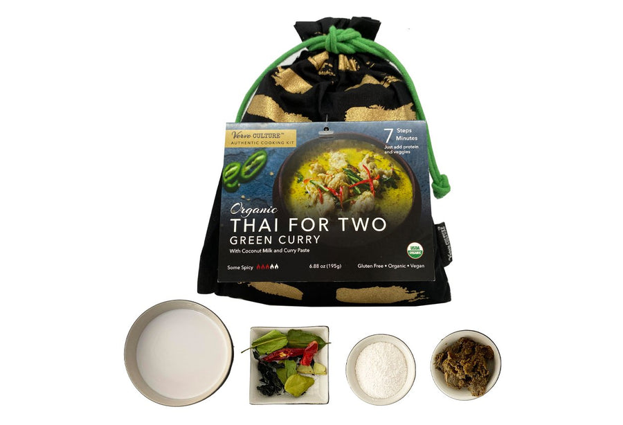 Thai for Two - Organic Green Curry Kit