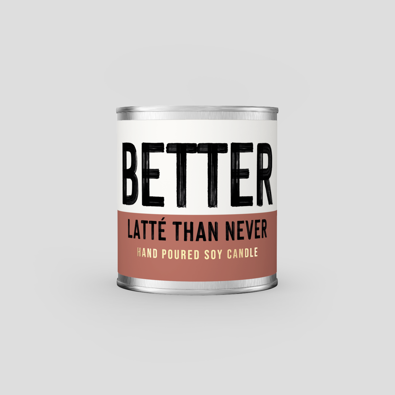 Better Latté Than Never - Coffee scented candle