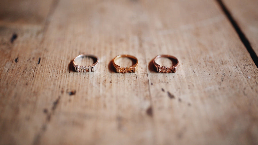 MAMA Ring // Rose Gold