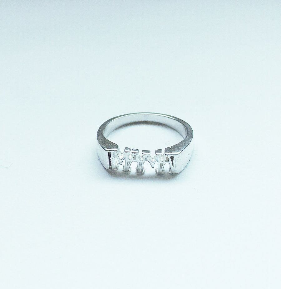 MAMA Ring // Sterling Silver