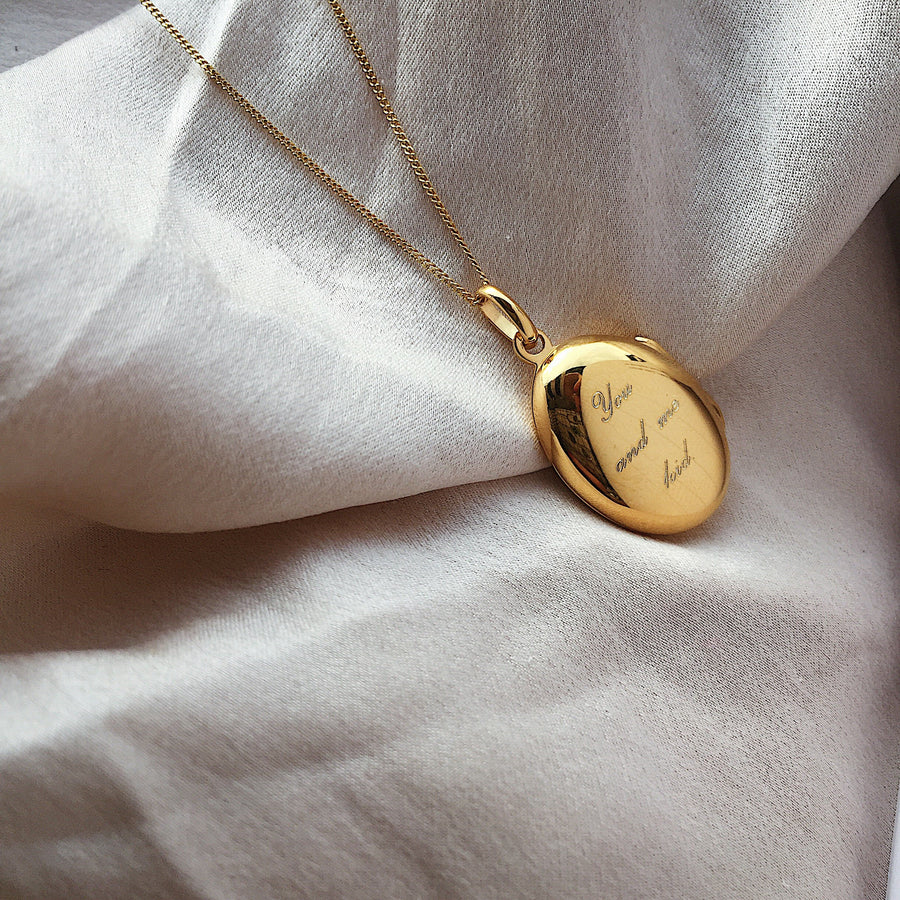 locket ~ you and me kid /oval
