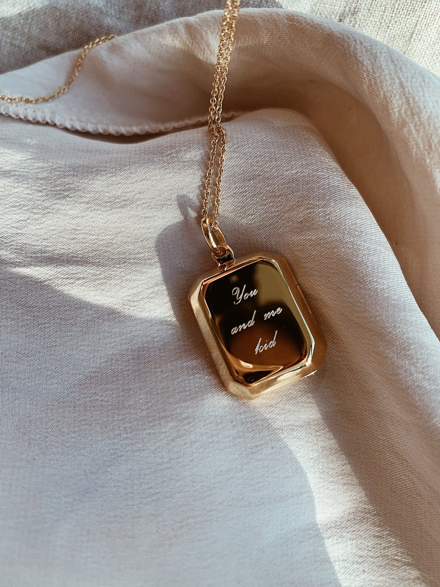 Locket ~ You And Me Kid / Rectangular