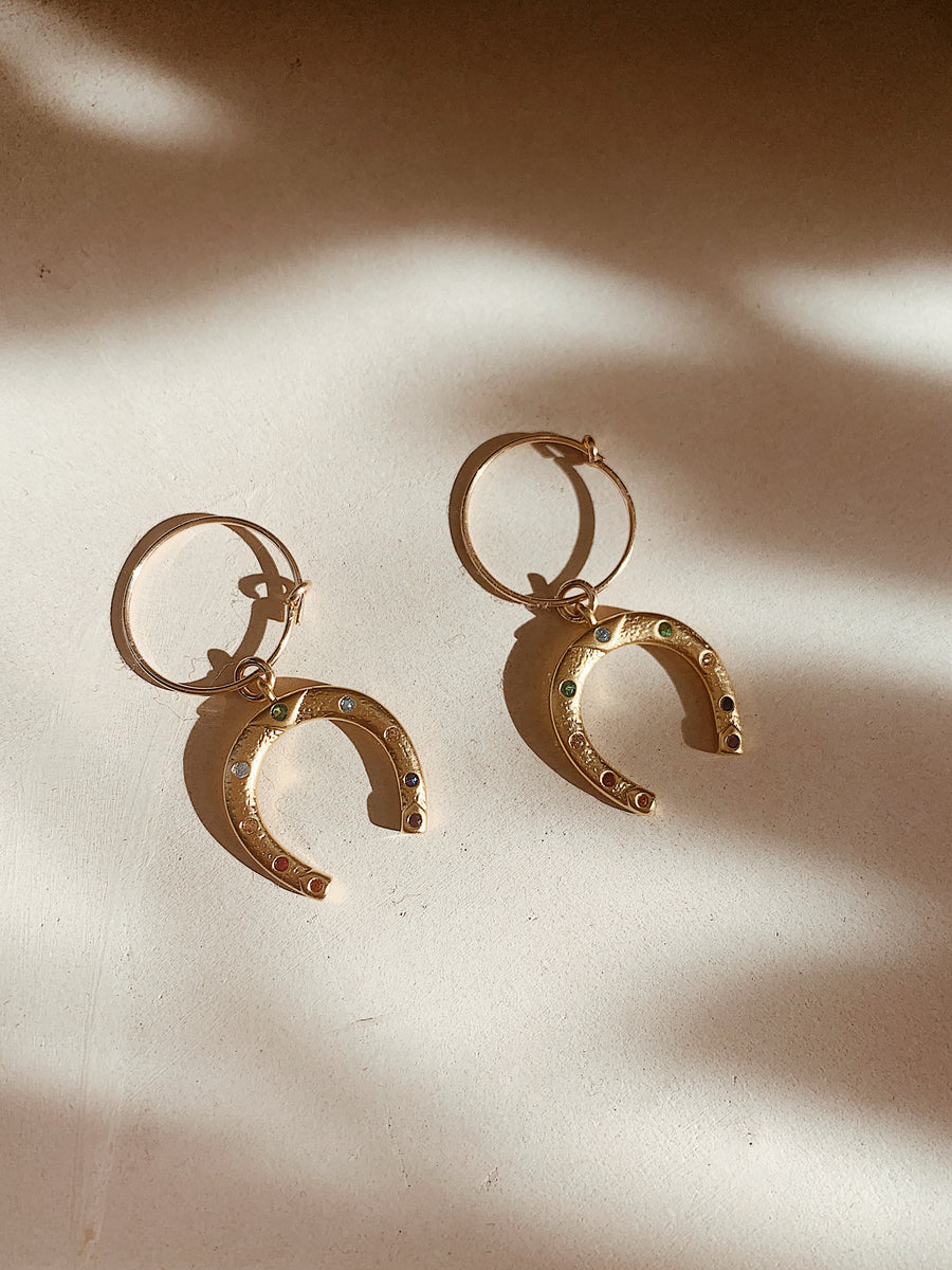 Lucky Horseshoe Hoops