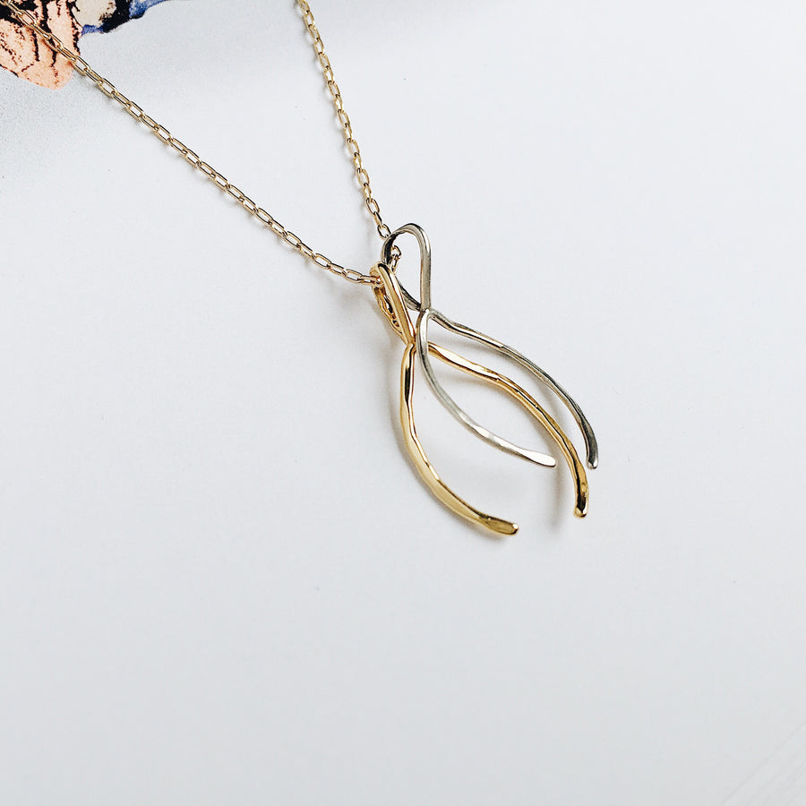 Wishbone Chain // Mixed Metals