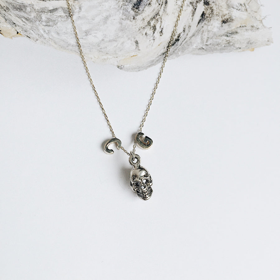 Personalised Initial Chain // Skull