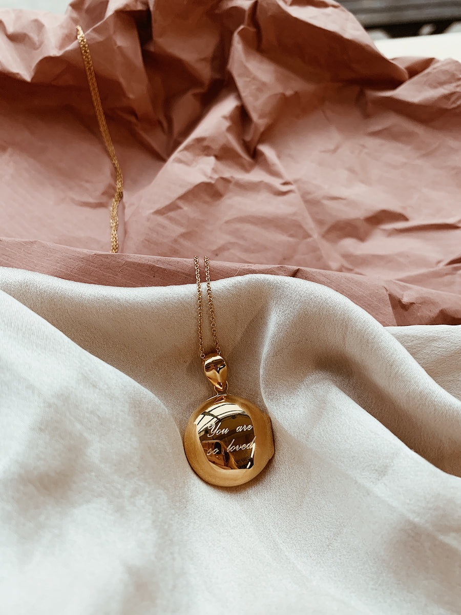 Locket ~ You Are So Loved / Round