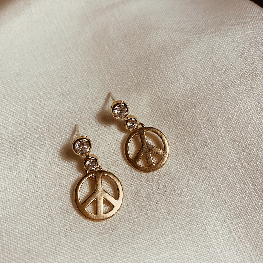 Peace Sign Earrings ✌️