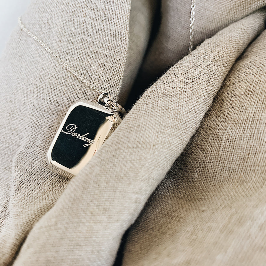 Locket ~ Darling / Rectangular