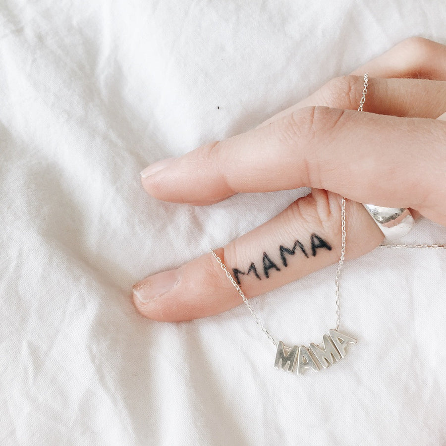 MAMA Chain // Sterling Silver
