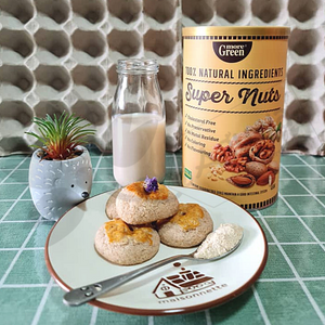 Recipe 4: Nutty Dome (Super Nuts Cookies)