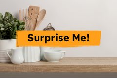 Surprise me with a cookware range!
