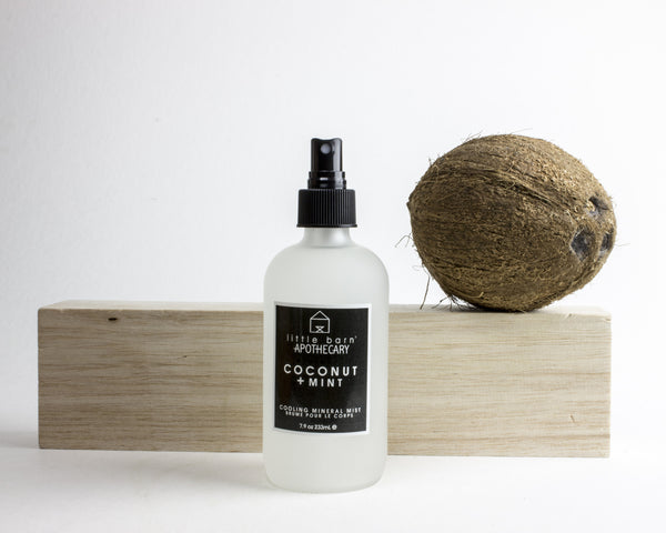 LBA} COCONUT + MINT COOLING MINERAL BODY MIST