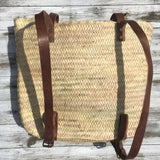 FAIR TRADE WOVEN PALM BACKPACK