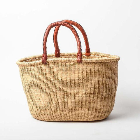 FAIR TRADE OVAL BASKET