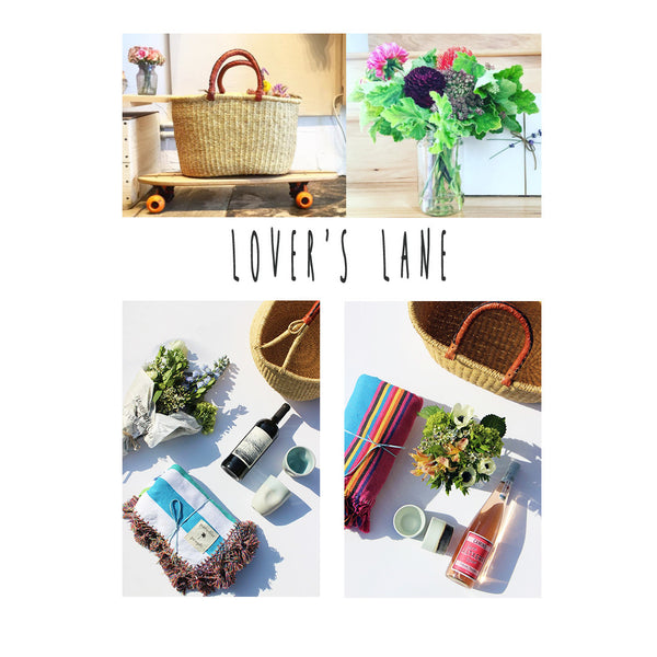 LOVER'S LANE GIFT BASKET