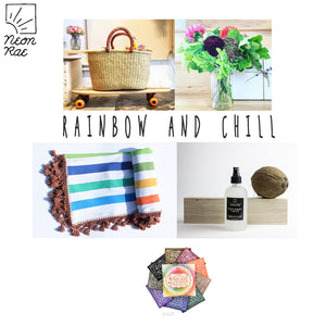 RAINBOW AND CHILL GIFT BASKET