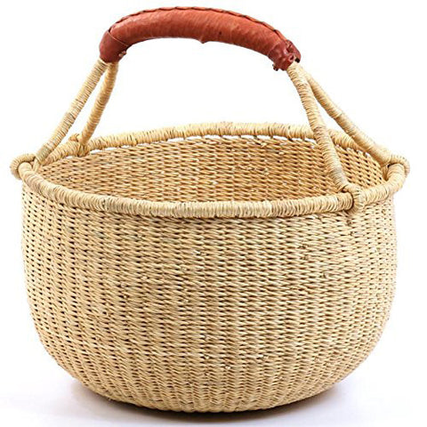 FAIR TRADE ROUND BASKET