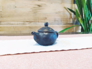 Small Gong Fu Teapot side