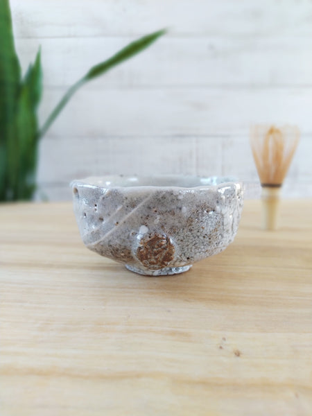 White Shino Chawan
