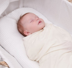 100% Superfine Merino Wool Swaddle Blanket