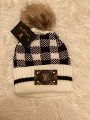 L/V Dupe Beenie - Monkey Bars Boutique