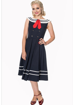 Banned Apparel Sailor Swing Dress