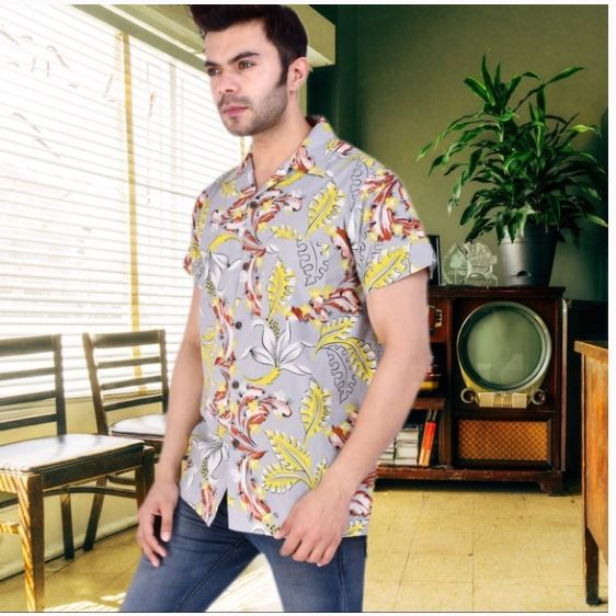 Smitten Kitten Hawaiian Purr Men's Shirt