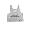 Blasé and Broken Hearted Tank (Athletic Heather)