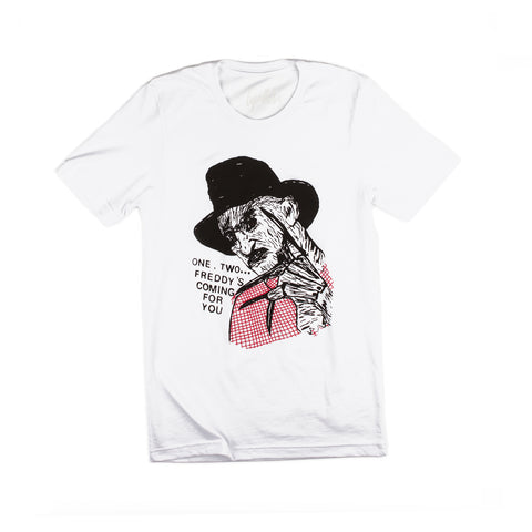Freddy's Coming Bootleg (White)