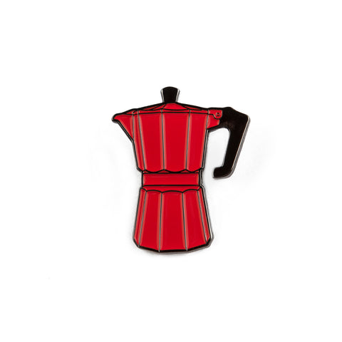 Percolator Enamel Pin