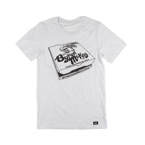 Pizza Box Shirt (Ash w/Reflective Ink)